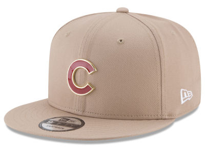 Chicago Cubs New Era MLB All Color Metal Logo 9FIFTY Snapback Cap
