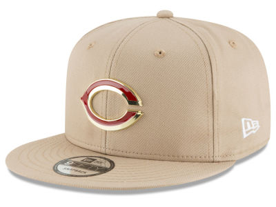 Cincinnati Reds New Era MLB All Color Metal Logo 9FIFTY Snapback Cap