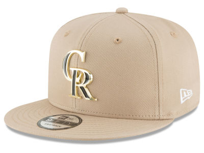 Colorado Rockies New Era MLB All Color Metal Logo 9FIFTY Snapback Cap