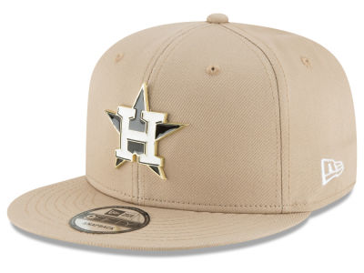 Houston Astros New Era MLB All Color Metal Logo 9FIFTY Snapback Cap