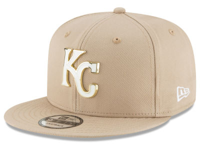 Kansas City Royals New Era MLB All Color Metal Logo 9FIFTY Snapback Cap