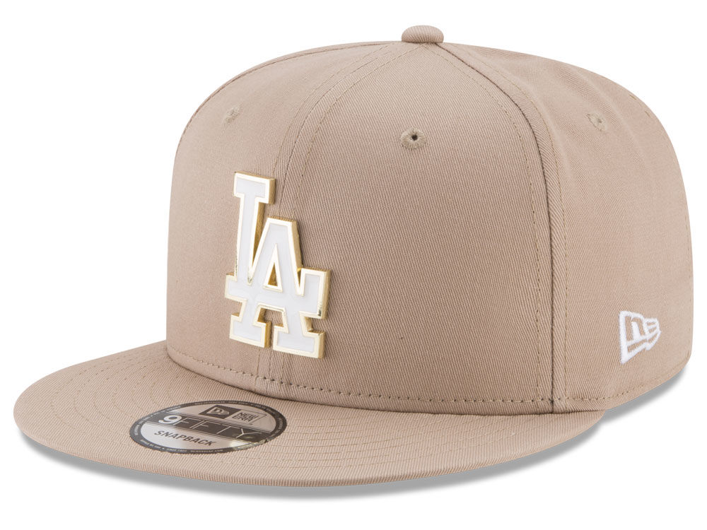 official photos 75306 759b5 ... cheap los angeles dodgers new era mlb all color metal logo 9fifty  snapback cap lids d3cac