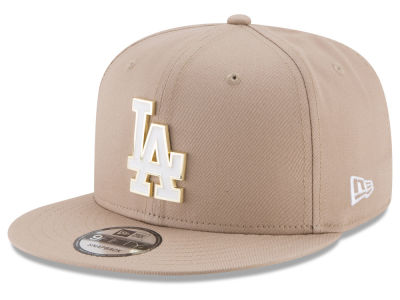 Los Angeles Dodgers New Era MLB All Color Metal Logo 9FIFTY Snapback Cap