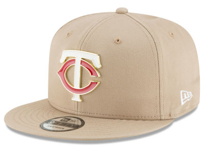 Minnesota Twins New Era MLB All Color Metal Logo 9FIFTY Snapback Cap