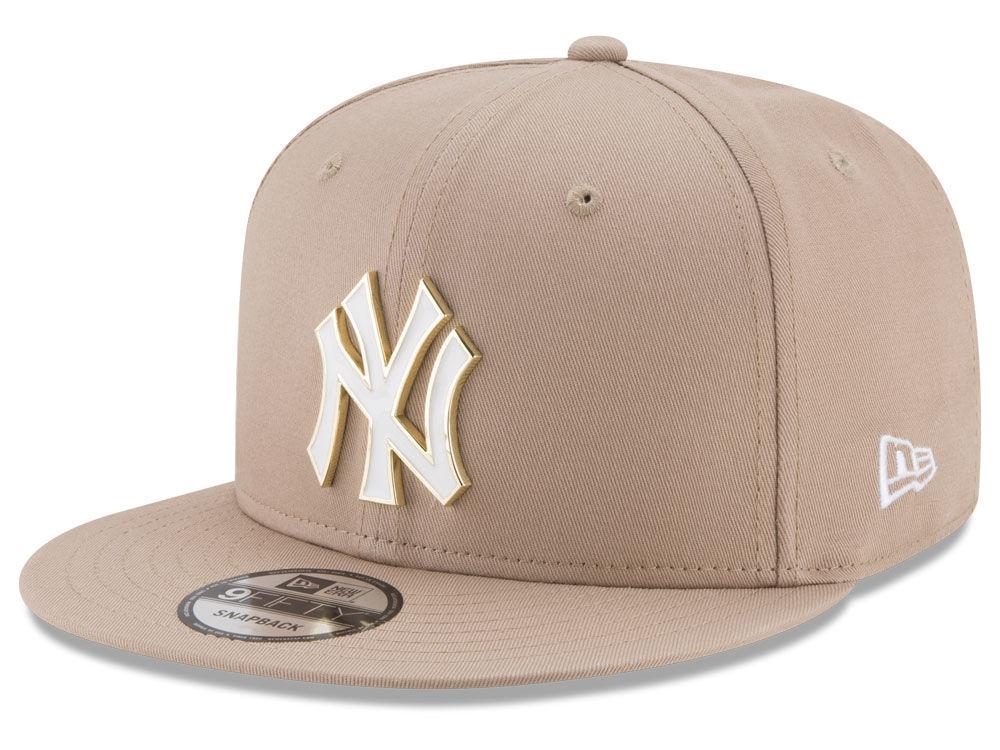 New York Yankees New Era MLB All Color Metal Logo 9FIFTY Snapback Cap  6df4ccf3a545