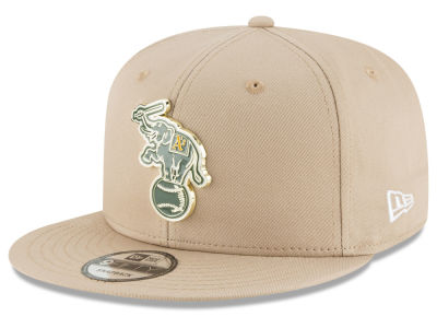 Oakland Athletics New Era MLB All Color Metal Logo 9FIFTY Snapback Cap