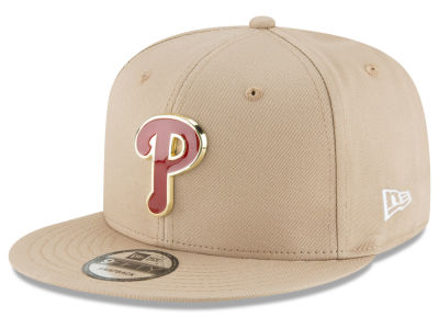 Philadelphia Phillies New Era MLB All Color Metal Logo 9FIFTY Snapback Cap