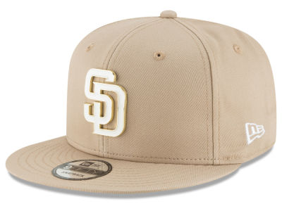 San Diego Padres New Era MLB All Color Metal Logo 9FIFTY Snapback Cap