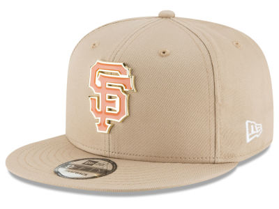 San Francisco Giants New Era MLB All Color Metal Logo 9FIFTY Snapback Cap