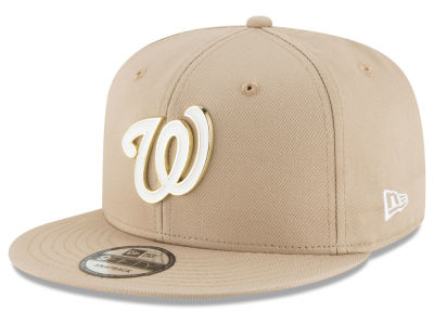 Washington Nationals New Era MLB All Color Metal Logo 9FIFTY Snapback Cap