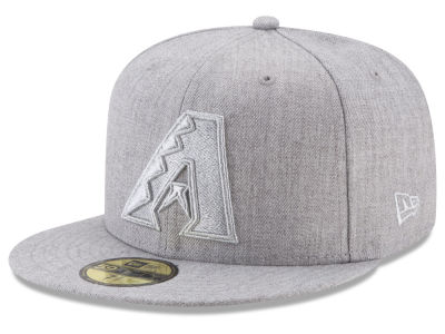 Arizona Diamondbacks New Era MLB Pure Silver 59FIFTY Cap
