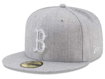Boston Red Sox New Era MLB Pure Silver 59FIFTY Cap