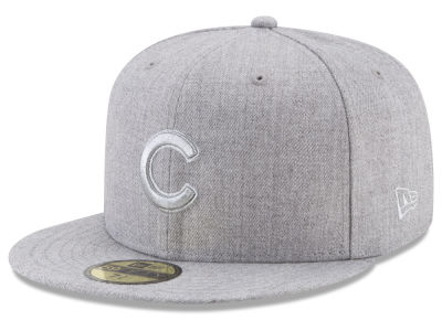 Chicago Cubs New Era MLB Pure Silver 59FIFTY Cap