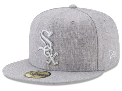 Chicago White Sox New Era MLB Pure Silver 59FIFTY Cap