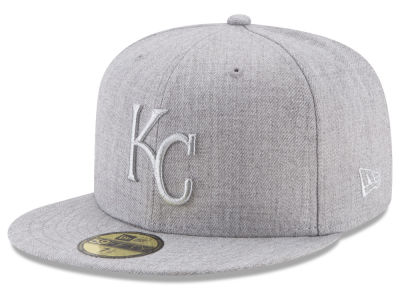 Kansas City Royals New Era MLB Pure Silver 59FIFTY Cap