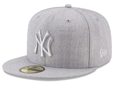 New York Yankees New Era MLB Pure Silver 59FIFTY Cap