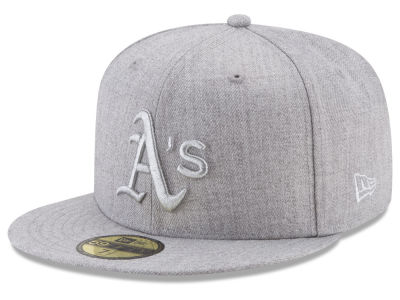 Oakland Athletics New Era MLB Pure Silver 59FIFTY Cap