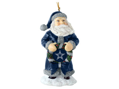 Dallas Cowboys Memory Company Classic Santa Ornament