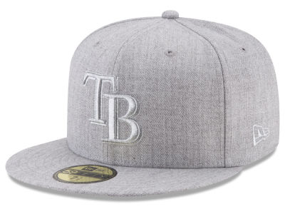 Tampa Bay Rays New Era MLB Pure Silver 59FIFTY Cap