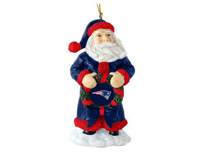 New England Patriots Classic Santa Ornament