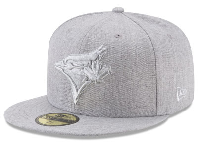 Toronto Blue Jays New Era MLB Pure Silver 59FIFTY Cap