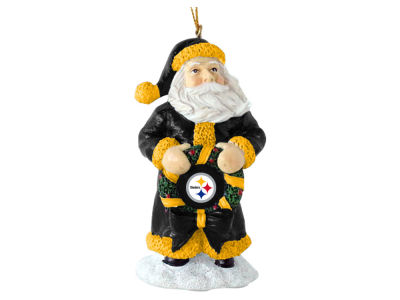 Pittsburgh Steelers Classic Santa Ornament