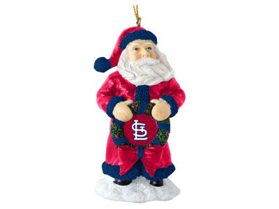 St. Louis Cardinals Classic Santa Ornament