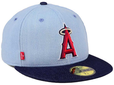 Los Angeles Angels New Era MLB X Levi 59FIFTY Cap