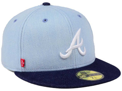Atlanta Braves New Era MLB X Levi 59FIFTY Cap
