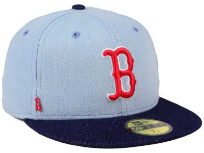 Boston Red Sox New Era MLB X Levi 59FIFTY Cap