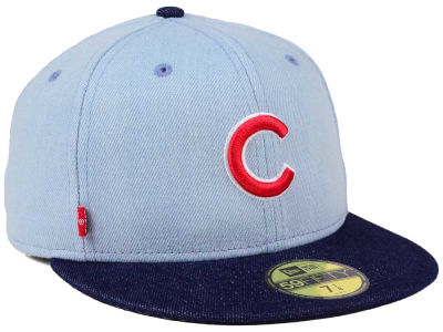 Chicago Cubs New Era MLB X Levi 59FIFTY Cap