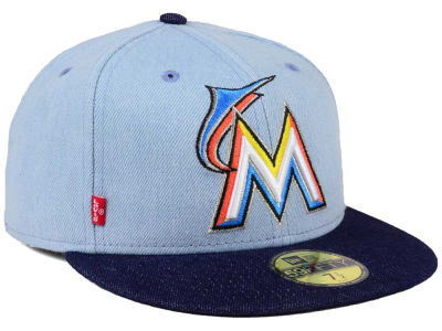 Miami Marlins New Era MLB X Levi 59FIFTY Cap