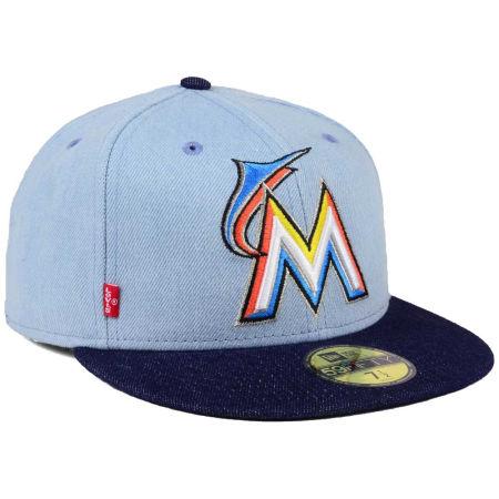Miami Marlins New Era MLB X Levi 59FIFTY Cap