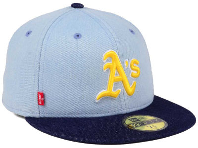 Oakland Athletics New Era MLB X Levi 59FIFTY Cap