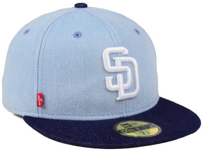 San Diego Padres New Era MLB X Levi 59FIFTY Cap