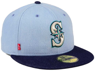 Seattle Mariners New Era MLB X Levi 59FIFTY Cap