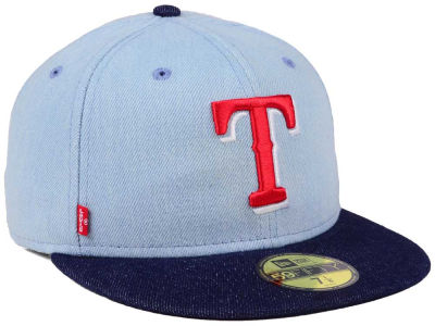 Texas Rangers New Era MLB X Levi 59FIFTY Cap