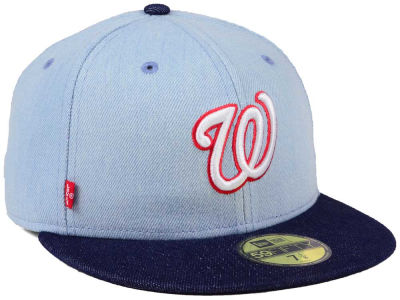 Washington Nationals New Era MLB X Levi 59FIFTY Cap