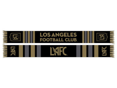 Los Angeles Football Club MLS Center Logo Scarf