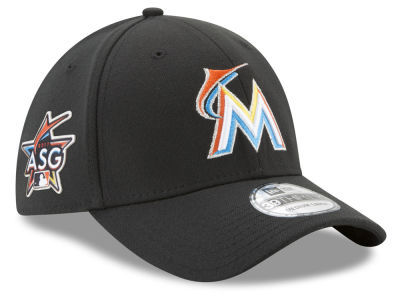 Miami Marlins New Era 2017 MLB All Star Game Patch 39THIRTY Cap