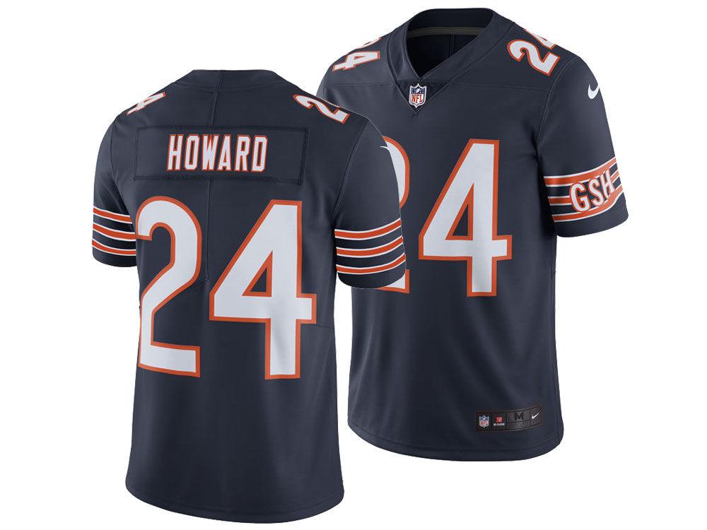 Chicago Bears Jordan Howard Nike NFL Men s Vapor Untouchable Limited Jersey.  Chicago Bears Jordan Howard Nike ... a4a83a768