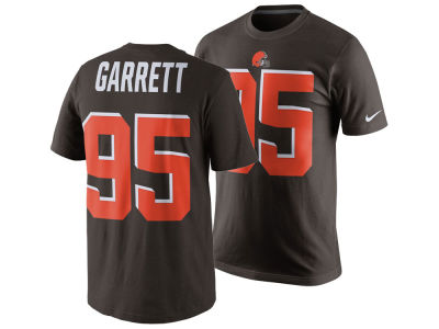 Cleveland Browns Myles Garrett Nike NFL Men's Pride Name and Number T-Shirt