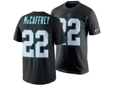 Carolina Panthers Christian McCaffrey Nike NFL Men's Pride Name and Number T-Shirt