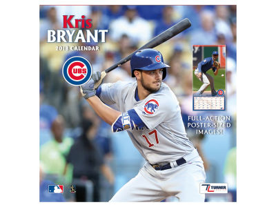 Chicago Cubs NBA 12x12 Player Wall Calendar