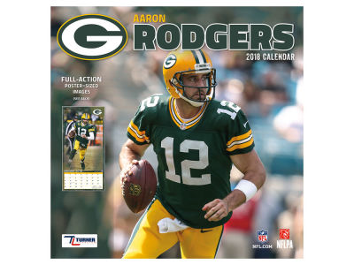 Green Bay Packers NBA 12x12 Player Wall Calendar
