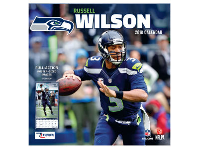 Seattle Seahawks NBA 12x12 Player Wall Calendar