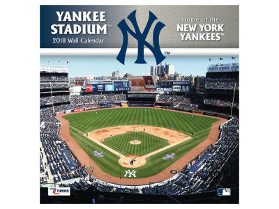 New York Yankees MLB 12x12 Stadium Wall Calendar