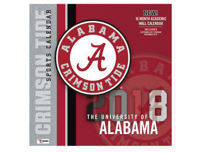 Alabama Crimson Tide MLB 12x12 Team Wall Calender