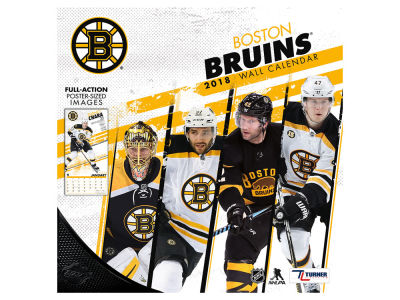 Boston Bruins MLB 12x12 Team Wall Calender