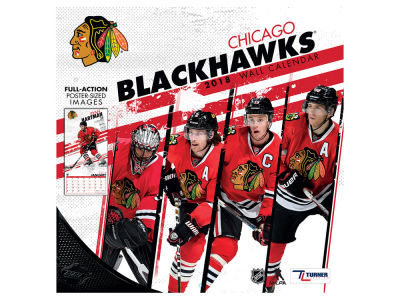 Chicago Blackhawks MLB 12x12 Team Wall Calender